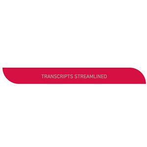 Transcripts Streamlined